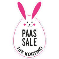 Paas sale ei met oren stickers