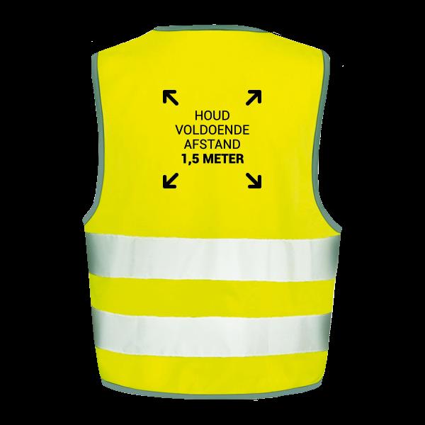 Veiligheidshesjes ontwerp 3 | Veiligheidhesjes 1,5 meter afstand kopen | Reclame ABC