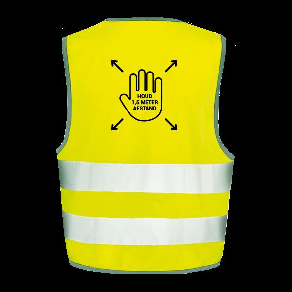 Veiligheidshesjes ontwerp 4 | Veiligheidhesjes 1,5 meter afstand kopen | Reclame ABC