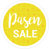 Pasen sale cirkel stickers van Reclame ABC