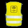 Veiligheidshesjes ontwerp 1 | Veiligheidhesjes 1,5 meter afstand kopen | Reclame ABC