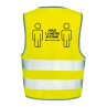 Veiligheidshesjes ontwerp 2 | Veiligheidhesjes 1,5 meter afstand kopen | Reclame ABC