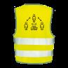 Veiligheidshesjes ontwerp 5 | Veiligheidhesjes 1,5 meter afstand kopen | Reclame ABC