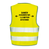 Veiligheidshesjes ontwerp 8 | Veiligheidhesjes 1,5 meter afstand kopen | Reclame ABC