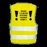 Veiligheidshesjes ontwerp 9 | Veiligheidhesjes 1,5 meter afstand kopen | Reclame ABC