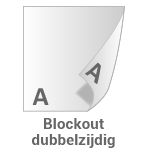 Blockout doek 810 grams.