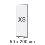 Roll-up banner 60 x 200 cm