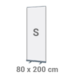 Roll-up banner 80 x 200 cm - +€10,00